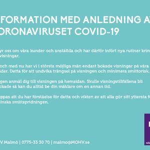 Info-Corona Hemnet Malmö