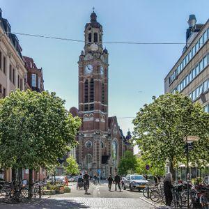 Friisgatan. St johannes kyrka