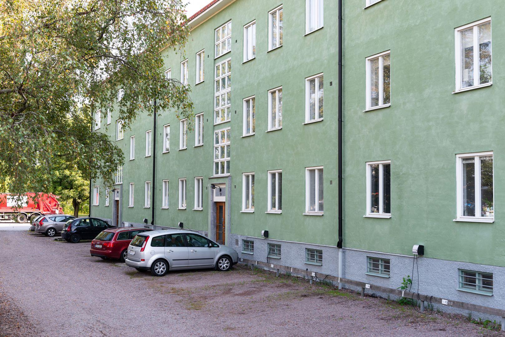 Huset sett från andra hållet