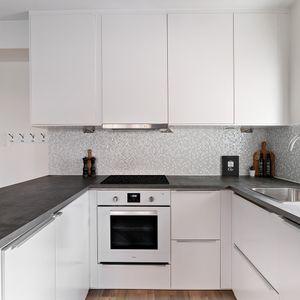 Köksskåp med smart förvaring