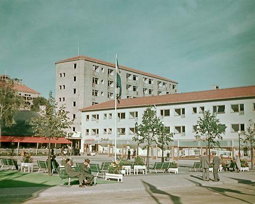 Nostalgi Guldhedstorget 1945