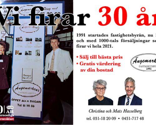 Ängemarkens 30 år site