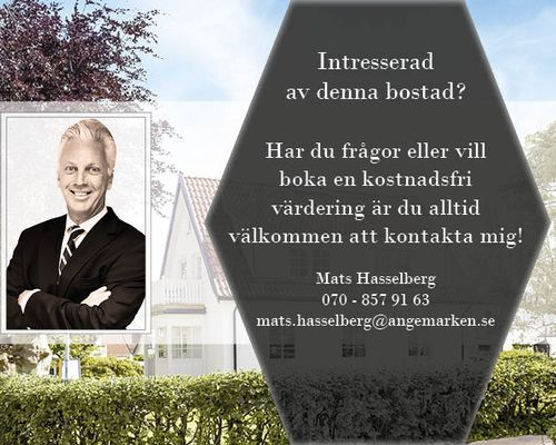Mats Hasselberg din mäklare i Förslöv