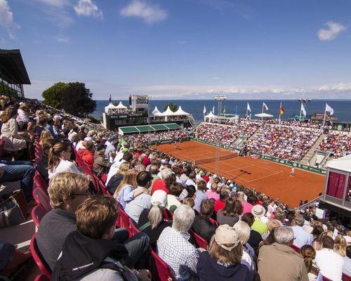 Centrecourt tennis under tennisveckorna i Båstad