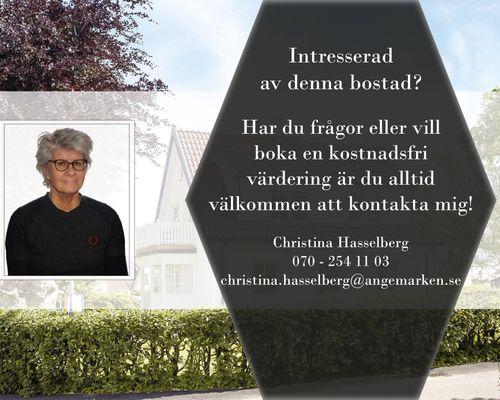 Christina Hasselberg din mäklare på Hisingen