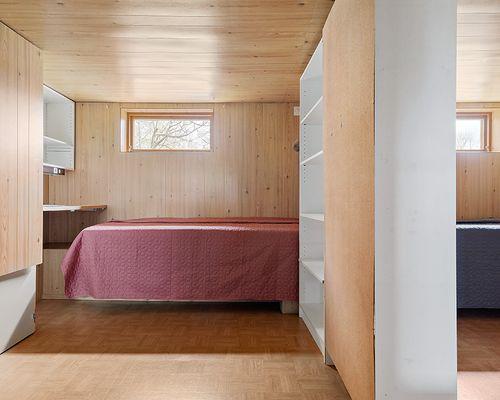 Sovrum/gästrum i källaren