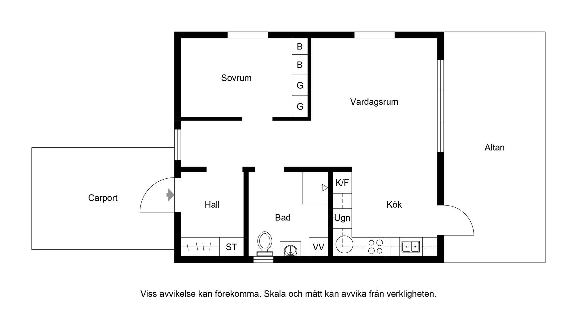Planritning Hus 2