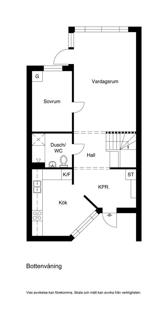 Alternativ Planskiss Bottenvåning