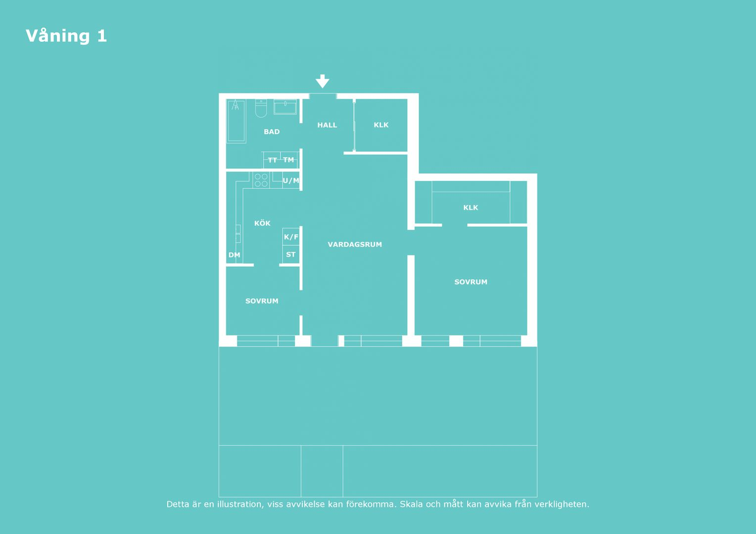 2D - Våning 1 - Letterhead