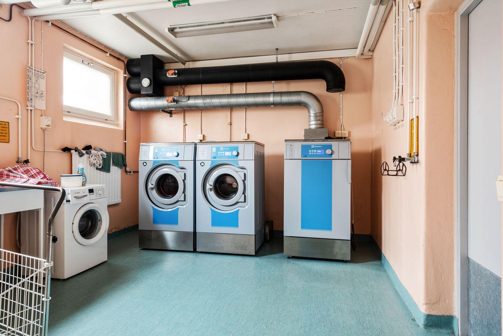 Föreningens tvättstuga i samma hus