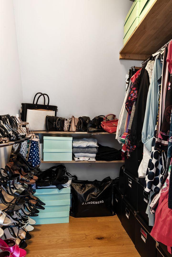 Klädkammare i master-bedroom