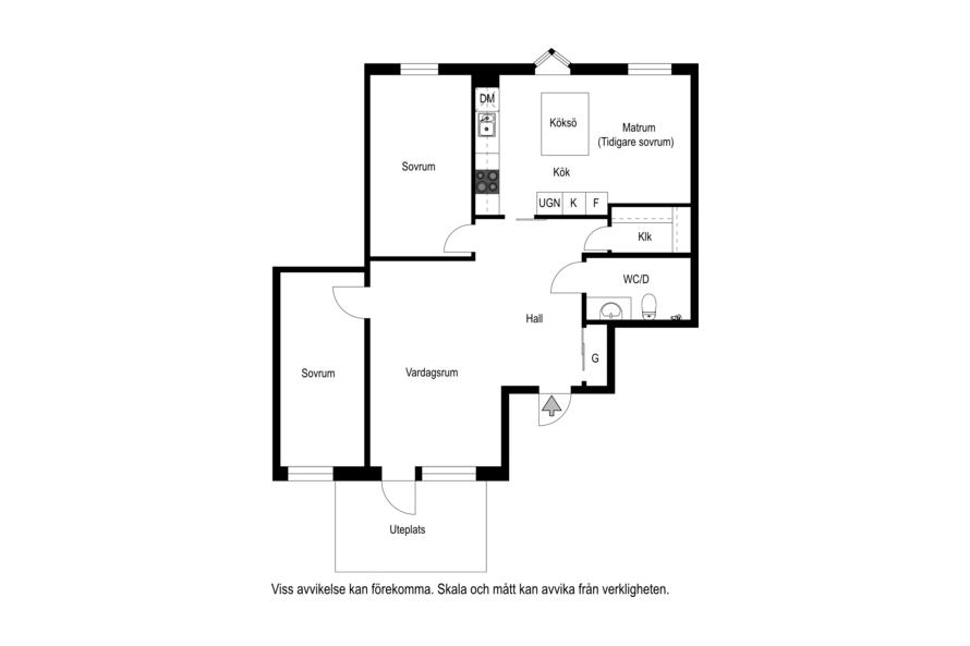 Planritning Södra Kungsgatan 16