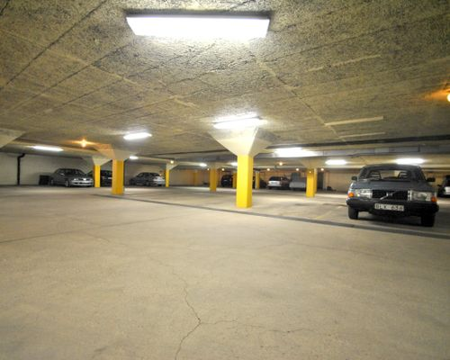 Garageplats tillhör bostaden