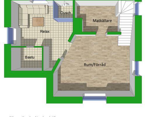 Alternativ planlösning källare