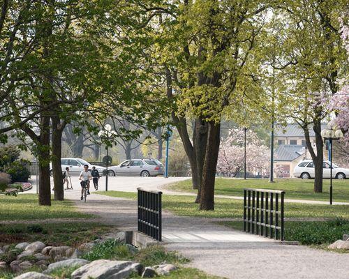 Närhet till stadsparken