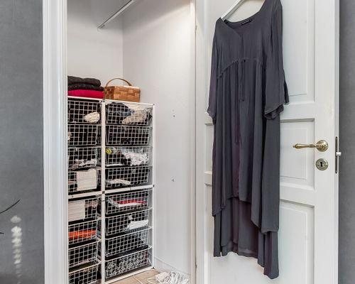 Klädkammare intill sovrummet