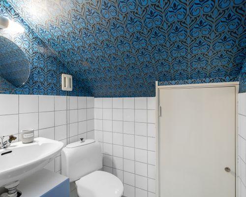 Toalett övervåning
