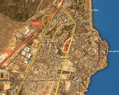 Karta område