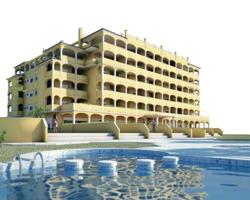 Komplex och pool