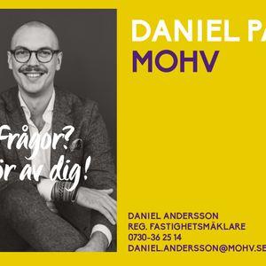 Digitalt visitkort Daniel Andersson