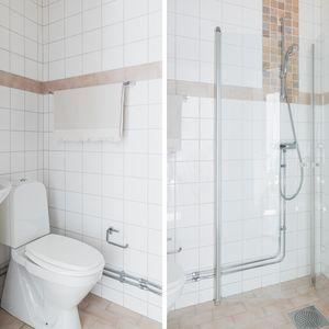 Stående badrum