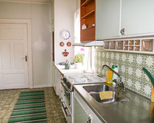 Kök i extra huset