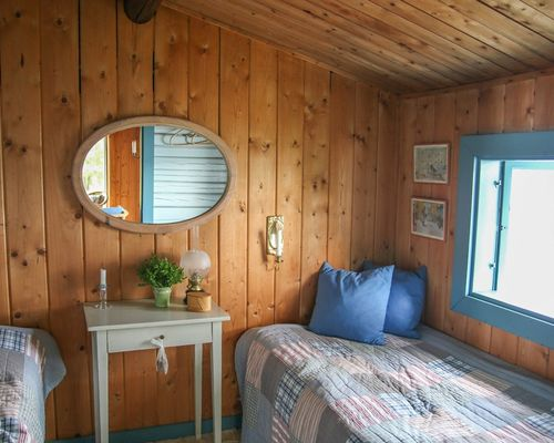 Sovrum i bostadshuset
