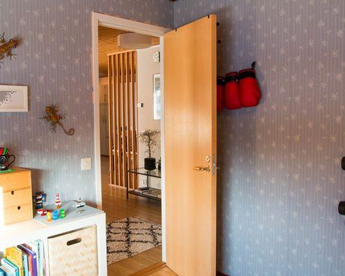 Sovrum (2) på bottenvåningen