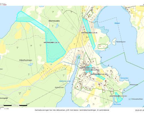 Översiktlig karta 2 - Karlskrona Hästholmen