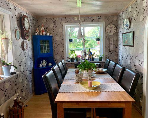 Matplats i köket