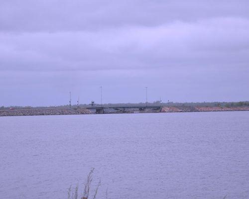Bron över till skärgårdsön Hasslö
