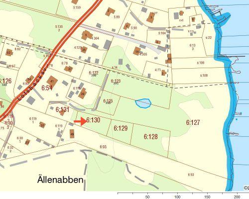 Fastighetskarta  Aspö 6 130