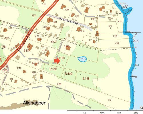 Fastighetskarta  Aspö 6 125