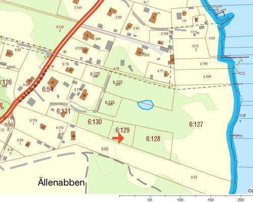 Fastighetskarta Aspö 6 129