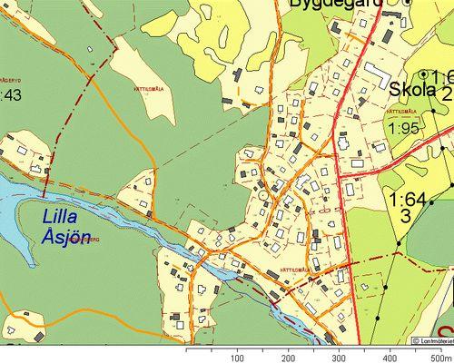 Fastighetskarta Kättilsmåla