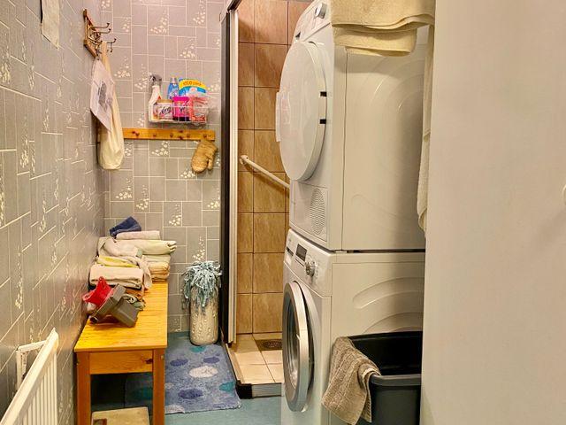 Tvättstuga i anslutning till köket