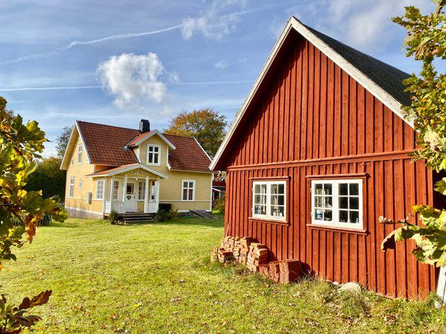 Huset och uthuset