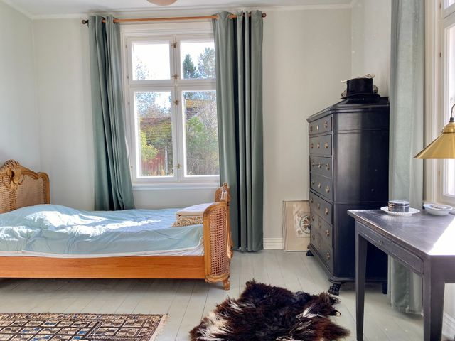 Sovrum, nedre våning