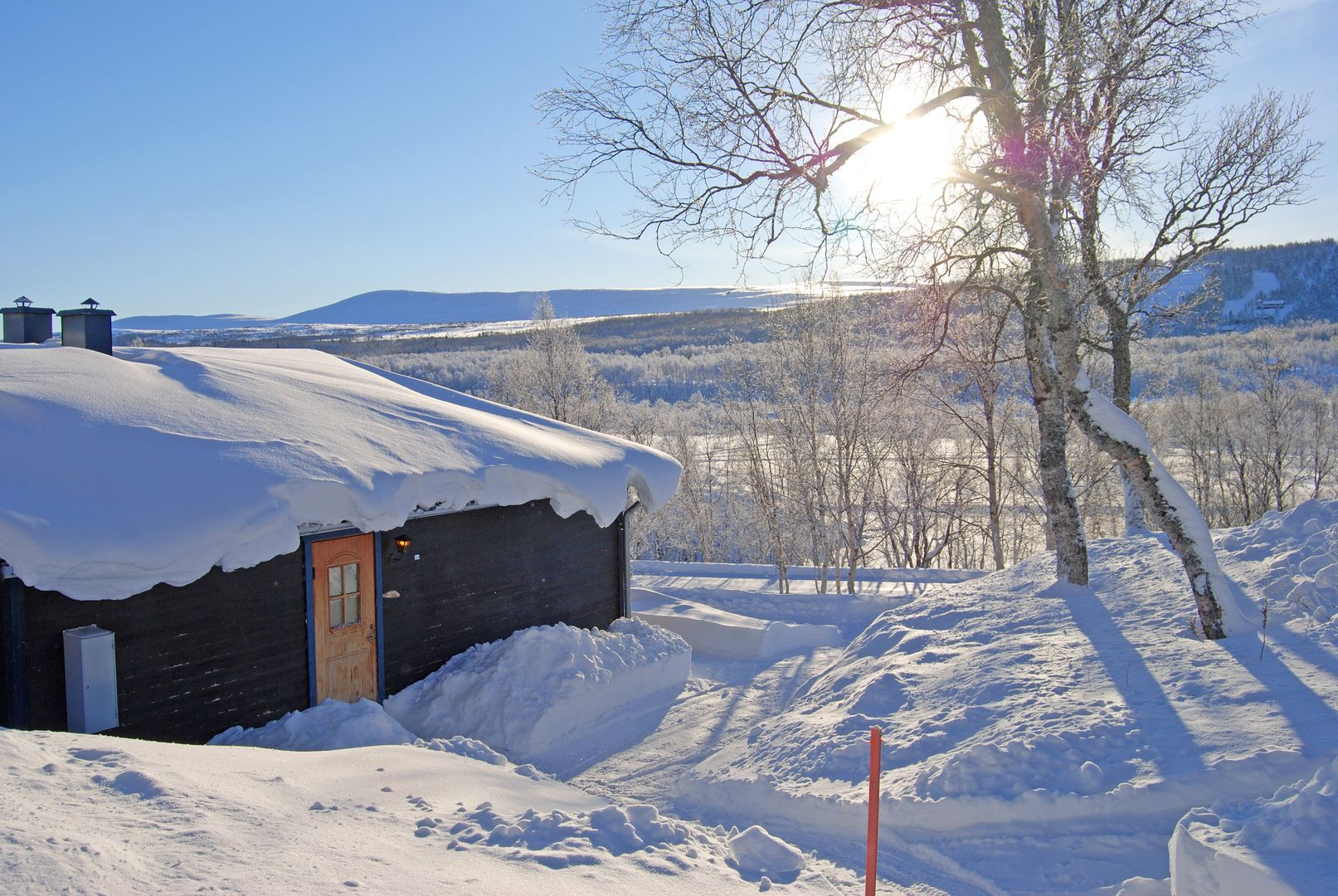 Bo i snösäkra Tänndalen.