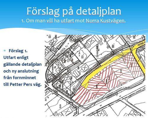 Förslag till ny detaljplan
