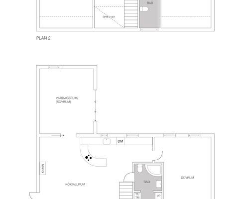 Planlösning huset