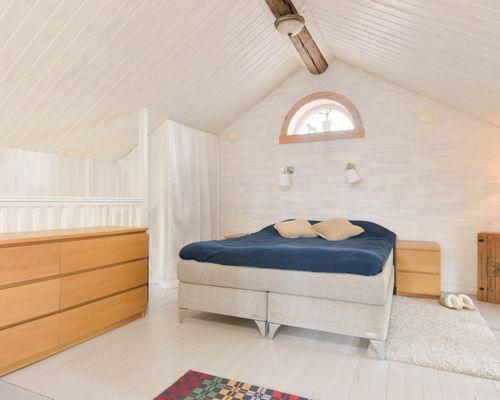 Sovrum i gamla huset