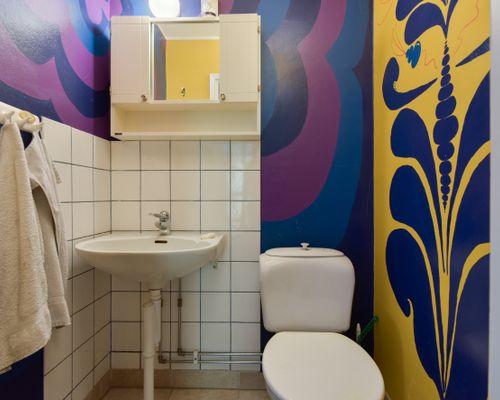 Toalett nedre plan