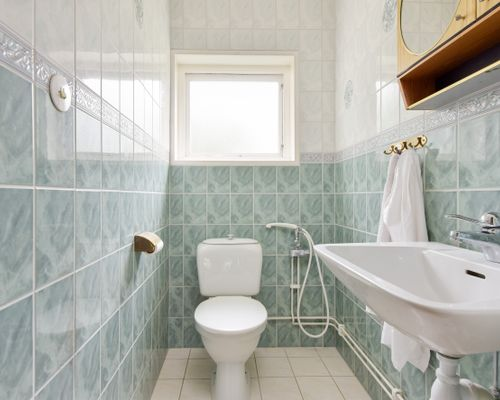 Toalett övre plan