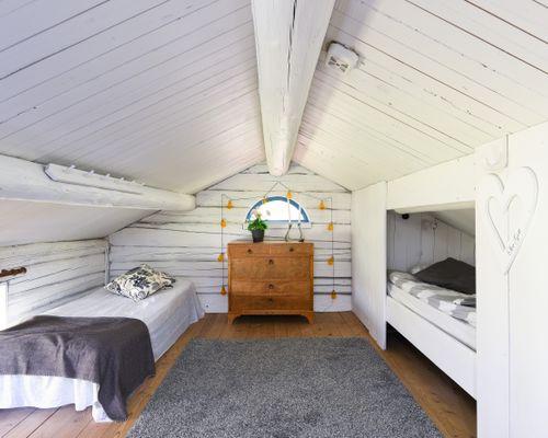 Sovrummet på övervåningen