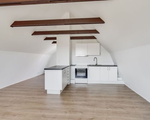 Kök, hus 2, lägenhet övre plan