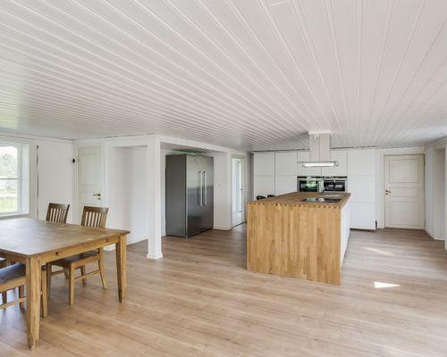 Kök, hus 1. Stora lägenheten.