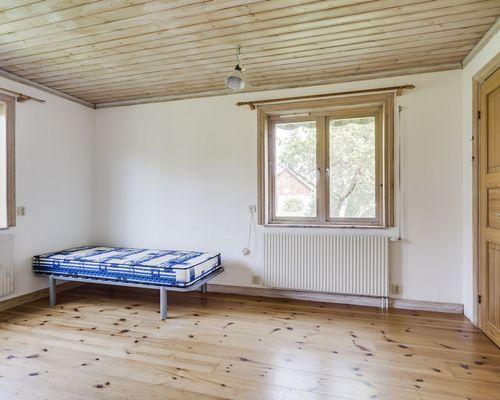 Sovrum, hus 1. Lilla lägenheten.