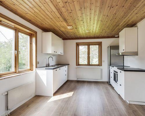 Kök, hus 1. Lilla lägenheten.