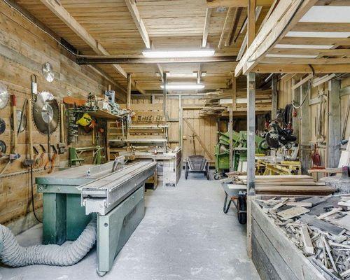Holzwerkstatt neu